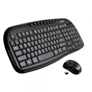 INTeX DUO-605 Wireless Multimedia Combo Keyboard & Mouse