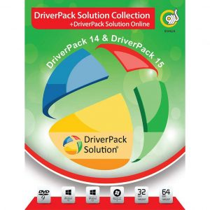 DriverPack Solution 14 & 15 1DVD9 گردو