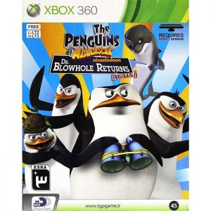 The Penguins of Madagascar Dr. Blowhole Returns XBOX 360 Game
