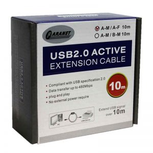 کابل افزایش Faranet USB2.0 ACTIVE Extension 10m