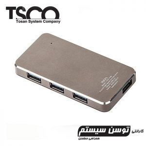 هاب TSCO THU 1108 4Port USB3.0 + گارانتی