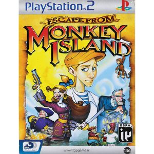 بازی حراجی Escape From Monkey Island PS2