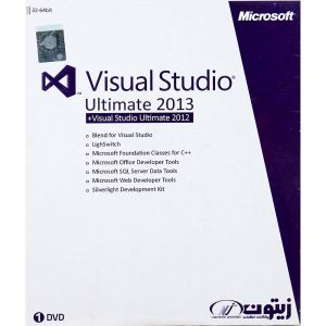 Visual Studio Ultimate 2013 1DVD زیتون