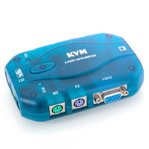 Royal FJ-K102 KVM Swich 2Port PS/2
