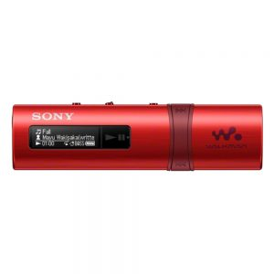 MP3 Player SONY NWZ-B183F Walkman 4GB قرمز + گارانتی