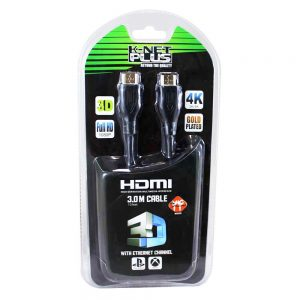کابل K-NET Plus HDMI V1.4 3D 3m + گارانتی