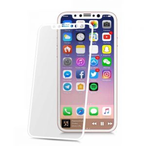 گلس RONIX 4D iPhone X سفید