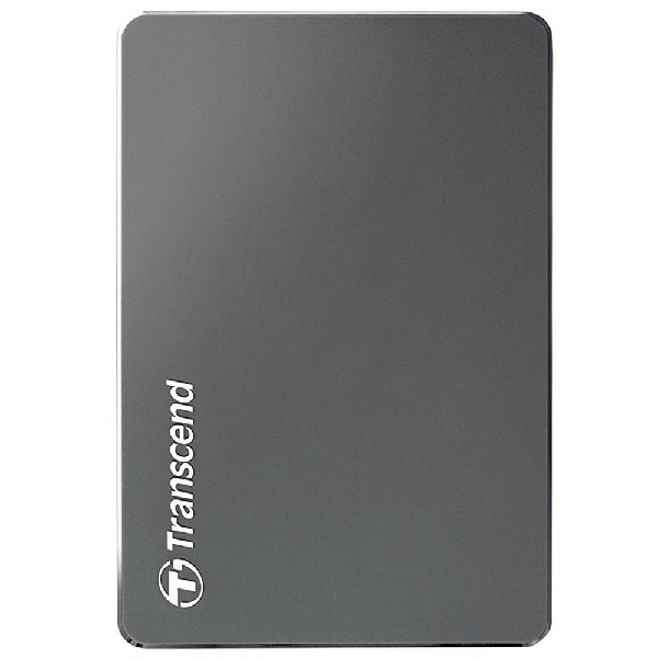 how to use transcend external hard drive