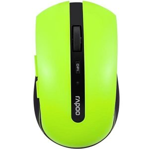 rapoo 7200P Red Wireless Optical Mouse