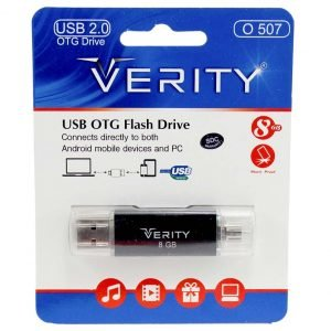 فلش وریتی Verity O507 OTG 8GB