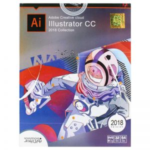 Adobe Illustrator CC 2018 collection 1DVD9 نوین پندار