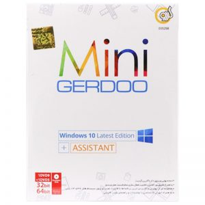 Windows 10 Latest Edition With Assistant 1DVD+1DVD9 گردو