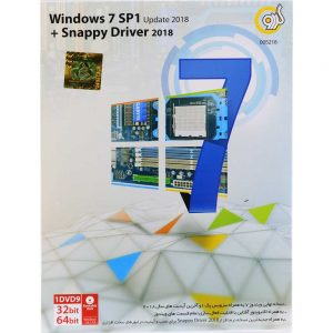 Windows 7 SP1 Update 2018 + Snappy Driver 2018 1DVD9 گردو