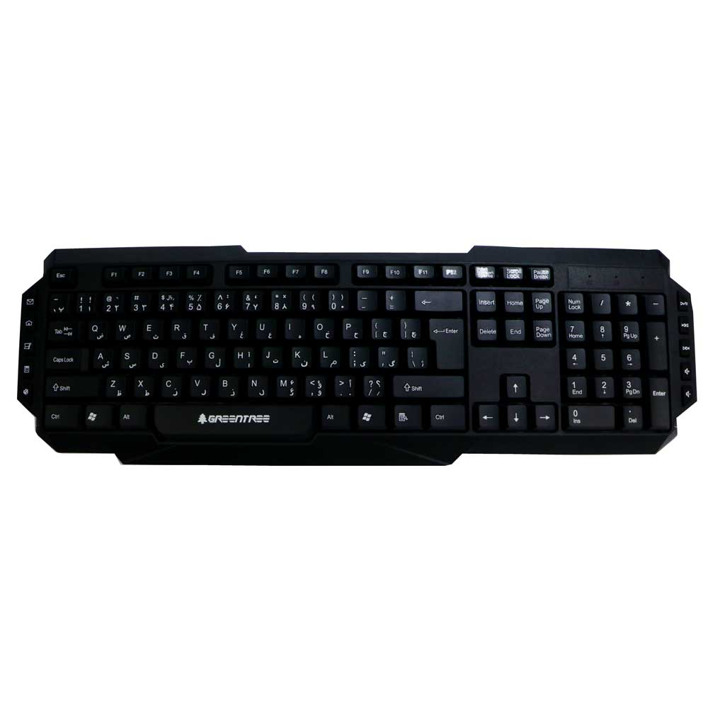 کیبورد GREENTREE GT-KB18 | GREENTREE GT-KB18 Multimedia Keyboard