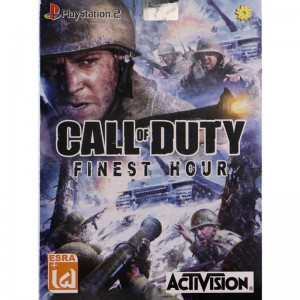 Call Of Duty Finest Hour PS2 لوح زرین