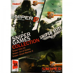 Sniper Games Collection PC 2DVD5 مدرن