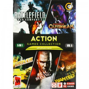 ACTION GAME COLLECTION Vol.5 PC 2DVD9 گردو