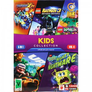 KIDS COLLECTION Vol.4 PC 1DVD9 گردو