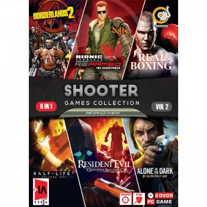 SHOOTER GAME COLLECTION Vol.2 PC 2DVD9 گردو