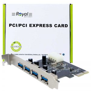 کارت Royal RP-304 PCI USB3.0 4Port