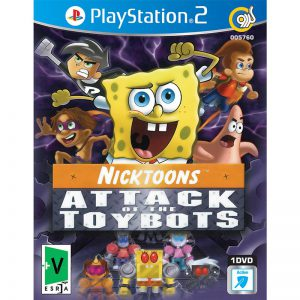 Nicktoons Attack Of The Toybots 1DVD5 گردو