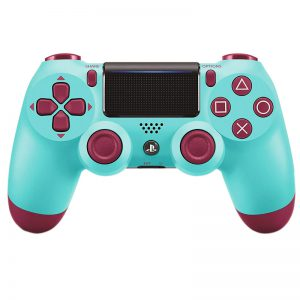 دسته بی سیم SONY PlayStation 4 DualShock 4 High Copy آبی قرمز