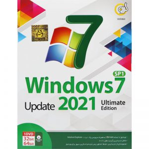 Windows 7 Update 2021 Ultimate Edition 1DVD گردو