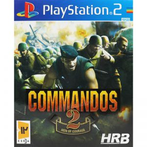 Commandos 2 Men Of Courage HRB PS2