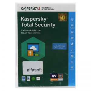 آنتی ویروس Kaspersky Total Security 1 User