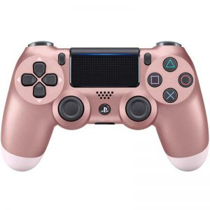 دسته بی سیم SONY PlayStation 4 DualShock 4 High Copy رزگلد