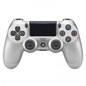 دسته بی سیم SONY PlayStation 4 DualShock 4 High Copy نقره ای