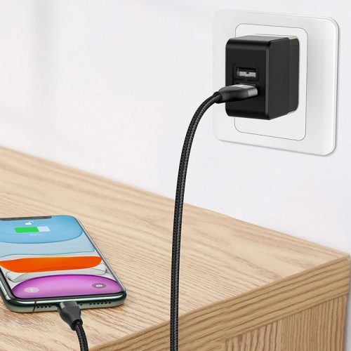 کابل تبدیل فست شارژ Baseus CATLYW-G01 Lightning To USB / Type-C PD 18W 1M