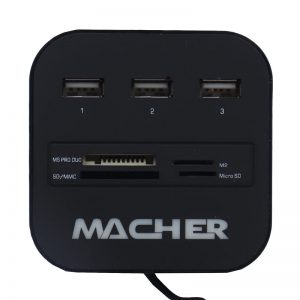 هاب و رم ریدر Macher MR-139 3port