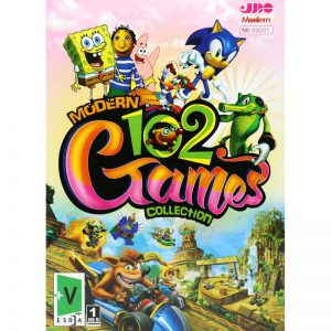 Modern 102 Games Collection PC 1DVD9 مدرن