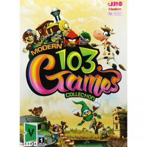 Modern 103 Games Collection PC 1DVD9 مدرن