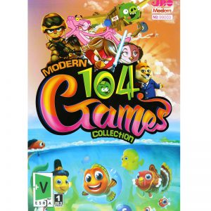 Modern 104 Games Collection PC 1DVD9 مدرن