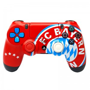 دسته بی سیم SONY PlayStation 4 DualShock 4 High Copy طرح Fc Bayern قرمز کد ۱