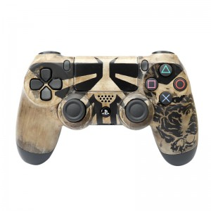 دسته بی سیم SONY PlayStation 4 DualShock 4 High Copy طرح The Last OF Us 2 مشکی کد 1